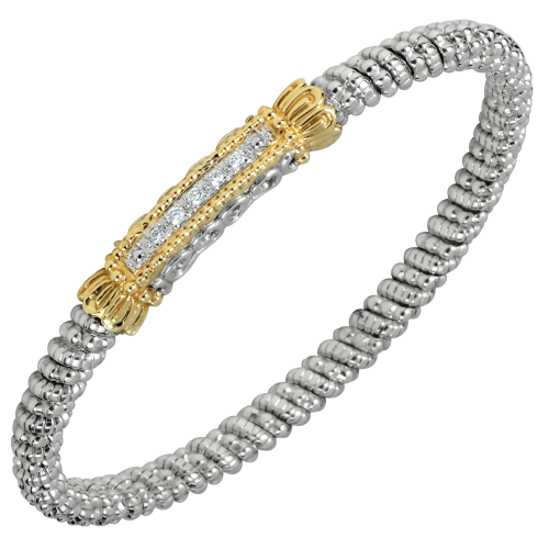 Gold and silver jewelry is always a bold statement