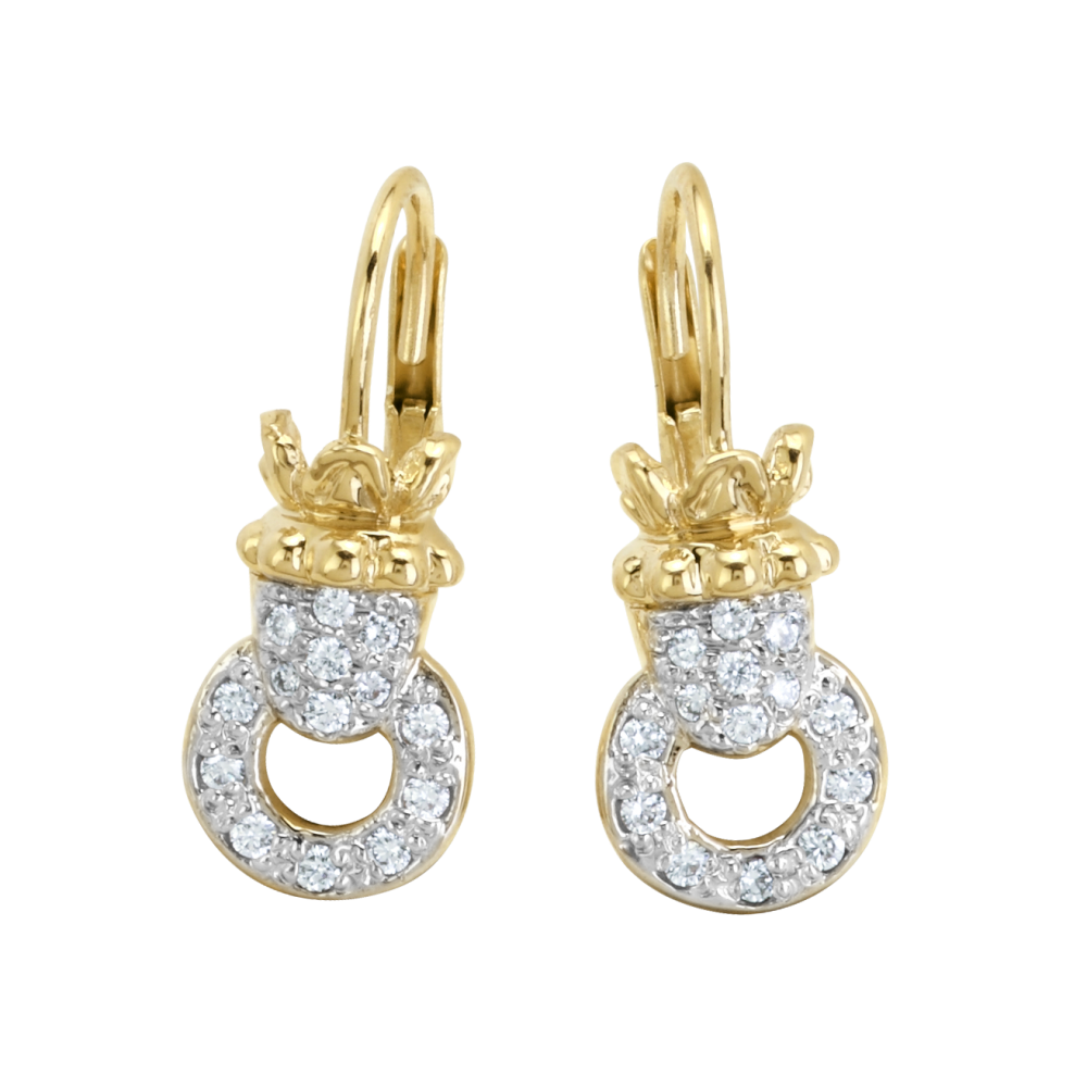 Dangling earrings from Bennion Jewelers