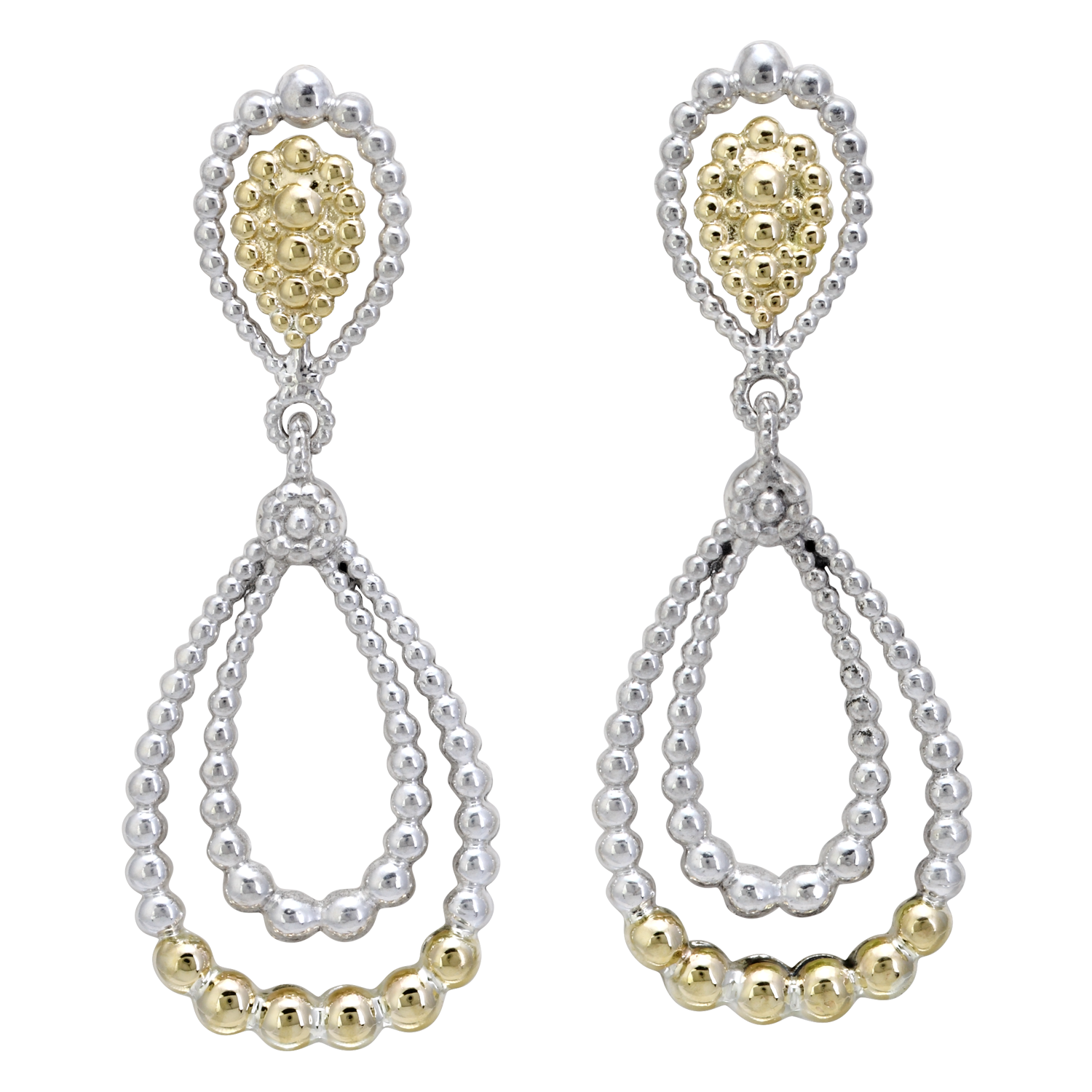 Vahan sterling silver and 14k yellow gold chandelier earring vahan sterling silver and 14k yellow gold chandelier earring aloadofball Gallery