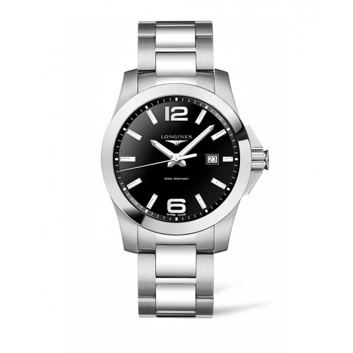 Silver watches from Longines are always in style