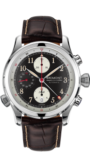 Brown Bremont watch - Bennion Jewelers