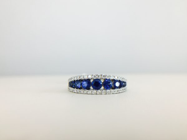Check out our blue colored rings from our downtown location