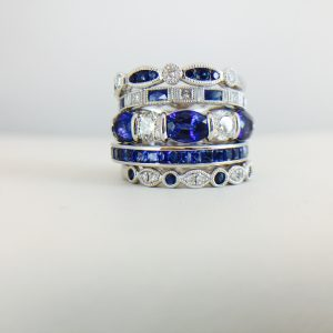 Bennion Jewelers offers so many options - colored rings