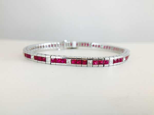 Silver and colors bracelets from Bennion Jewelers
