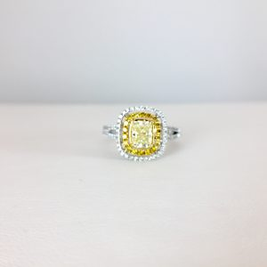 Be bold -- add color to your engagement ring