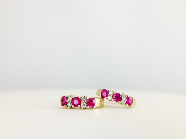 Colored rings are a fun option - Bennion Jewelers