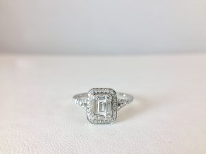 Check out Bennion Jewelers for a unique bridal ring