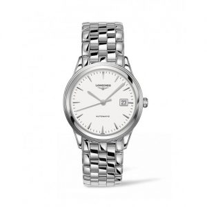 Silver Longines Men's Watch