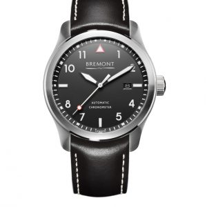 Black and silver Bremont