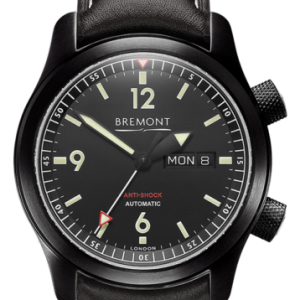 Bremont watch from Bennion Jewelers - black