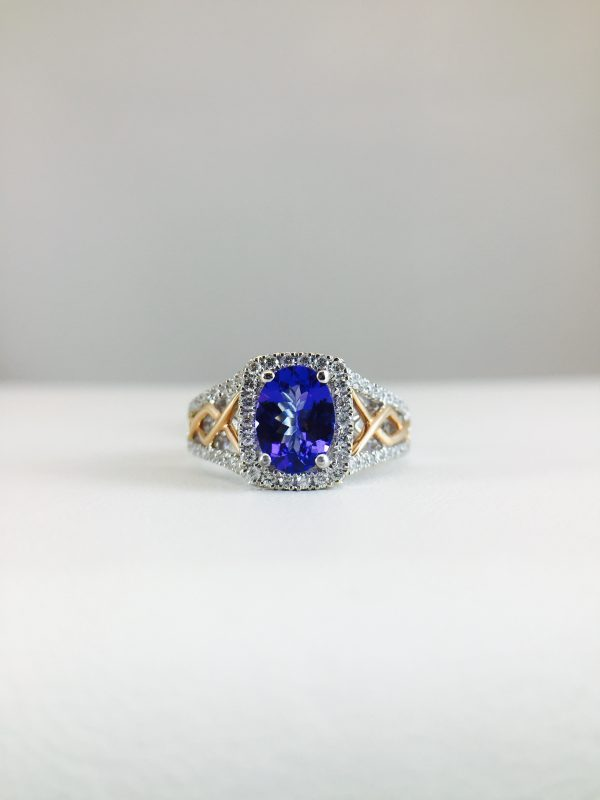 Check out the tanzanite rings from Bennion Jewelers