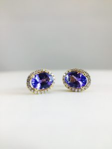 Tanzanite Earrings from Bennion Jewelers
