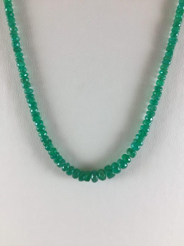 Beaded Strand - Emerald