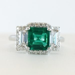 Bennion Jewelers has so many emerald rings to choose from