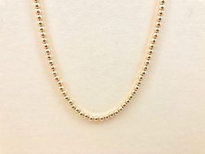 Gold Beads - Bennion Jewelers