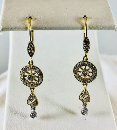These filagree earrings are sure to make a statement