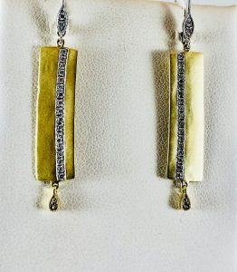 Our downtown location has a variety of gold earrings