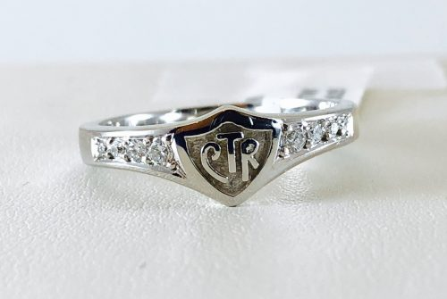 Check out these CTR rings from Bennion Jewelers