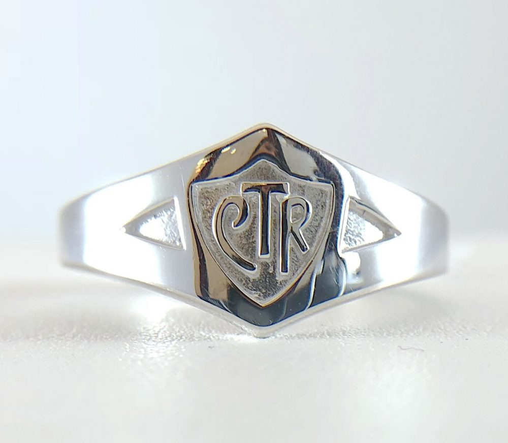 CTR ring - white gold - Bennion Jewelers