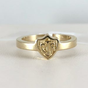 Thin CTR ring for ladies
