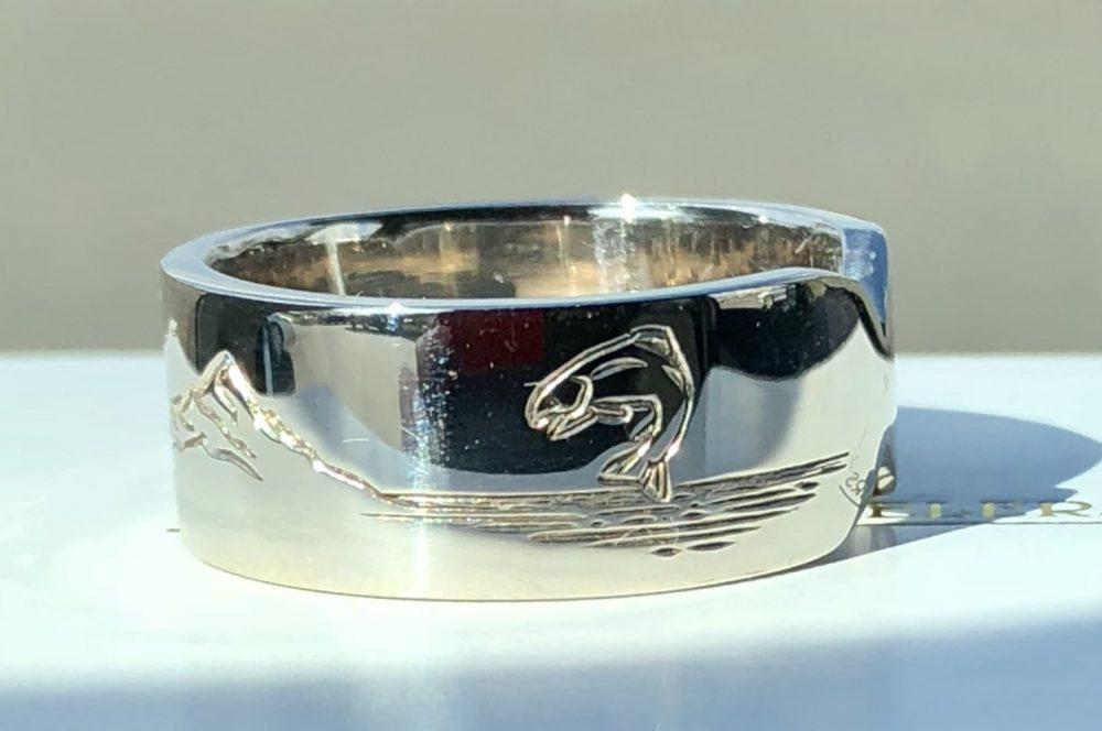 Fish ring - Bennion Jewelers