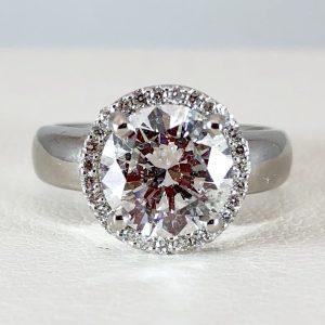 Chunky pink diamond